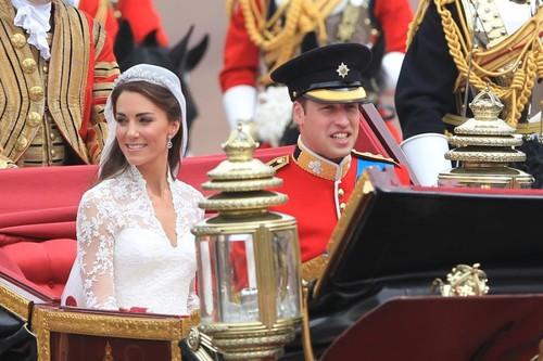 Официальные свадебные фото герцога и герцогини