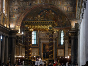 Mass at St Mary Major