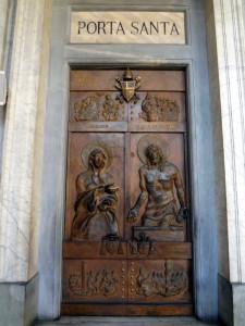 Porta Santa (Holy Door) at St Mary Major
