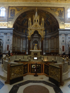 The Confessio at St Paul Outside-The-Walls