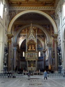 Baldacchino at St John Lateran