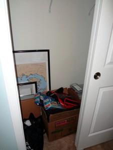Closet pre-shelves