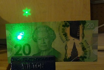 Fun with Canadian money