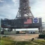 SLS launch platform