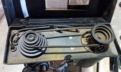 Drill press speed adjustment