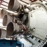 Saturn V second stage engines