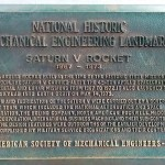 Saturn V plaque