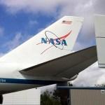 NASA 905 SCA tail