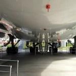 Underneath NASA 905 SCA