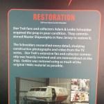 Shuttlecraft Galileo information sign