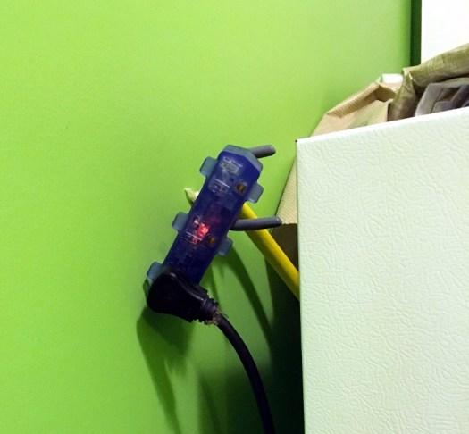 Easy access freezer plug