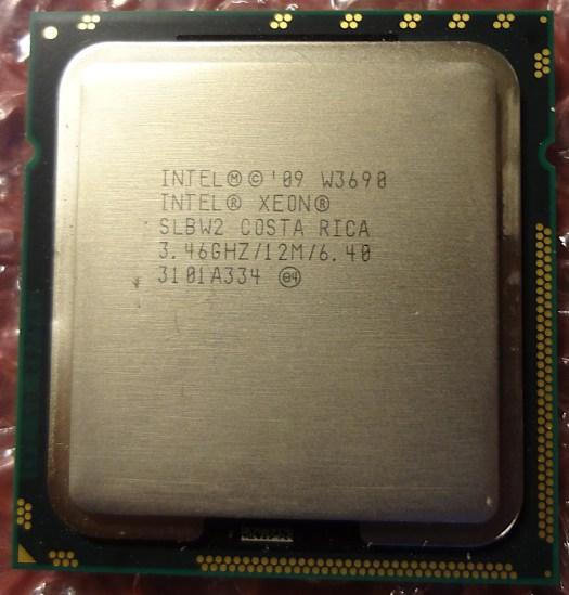 Xeon W3690
