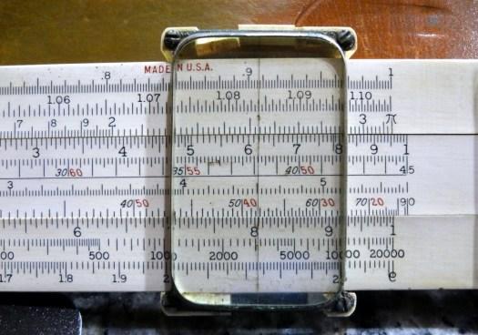 Keuffel & Esser (K&E) 4080-3 log-log slide rule