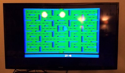 Pac-Man on the Atari 2600