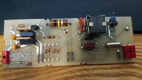 Battery power supply board