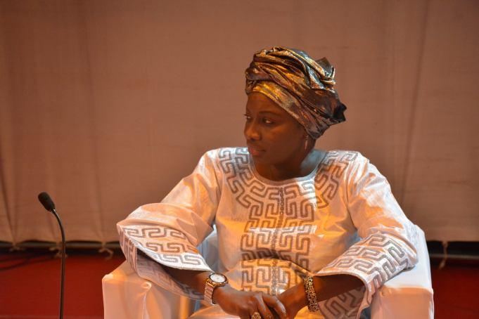 Aminata Touré ancienne Première Ministre du Sénégal  Sept 2013- Juillet 2014