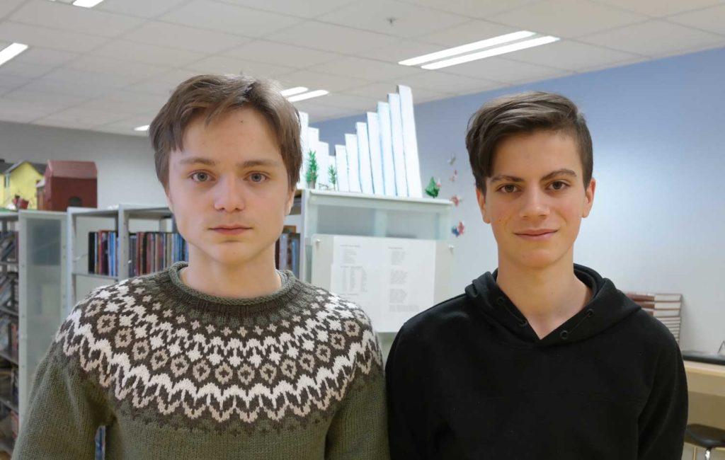 Erling Myhre og Oscar Brovold