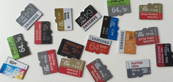 Some of the microSD cards I used in my benchmarks on the Raspberry Pi
