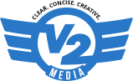 V2 Media Logo