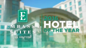 Embassy Suites 2016 Hotel of the Year