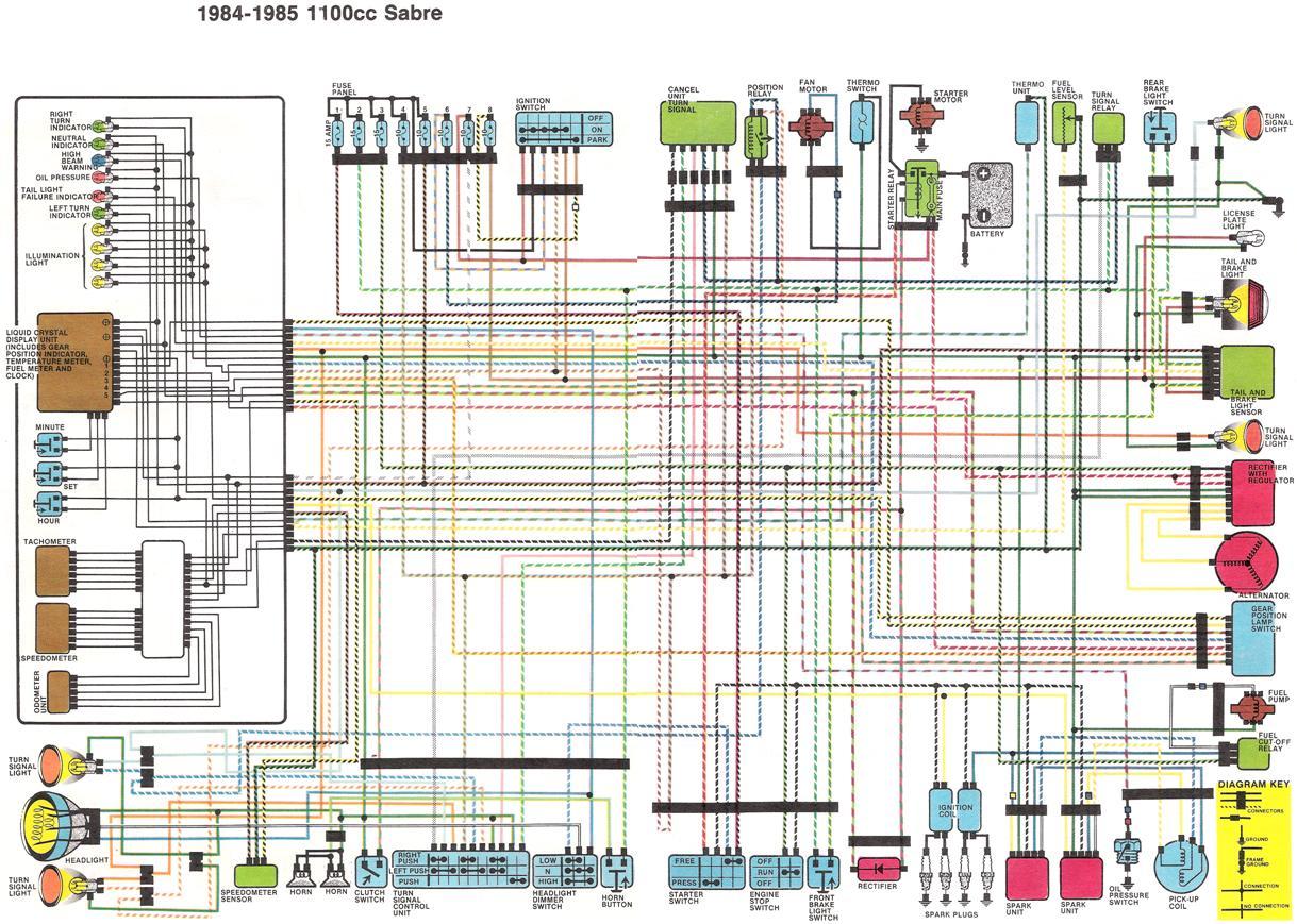 Honda Shadow Sabre Wiring Diagram Harness Schematics 919 Schematic Diagrams Rh Bestkodiaddons Co 2001 1100 Electrical