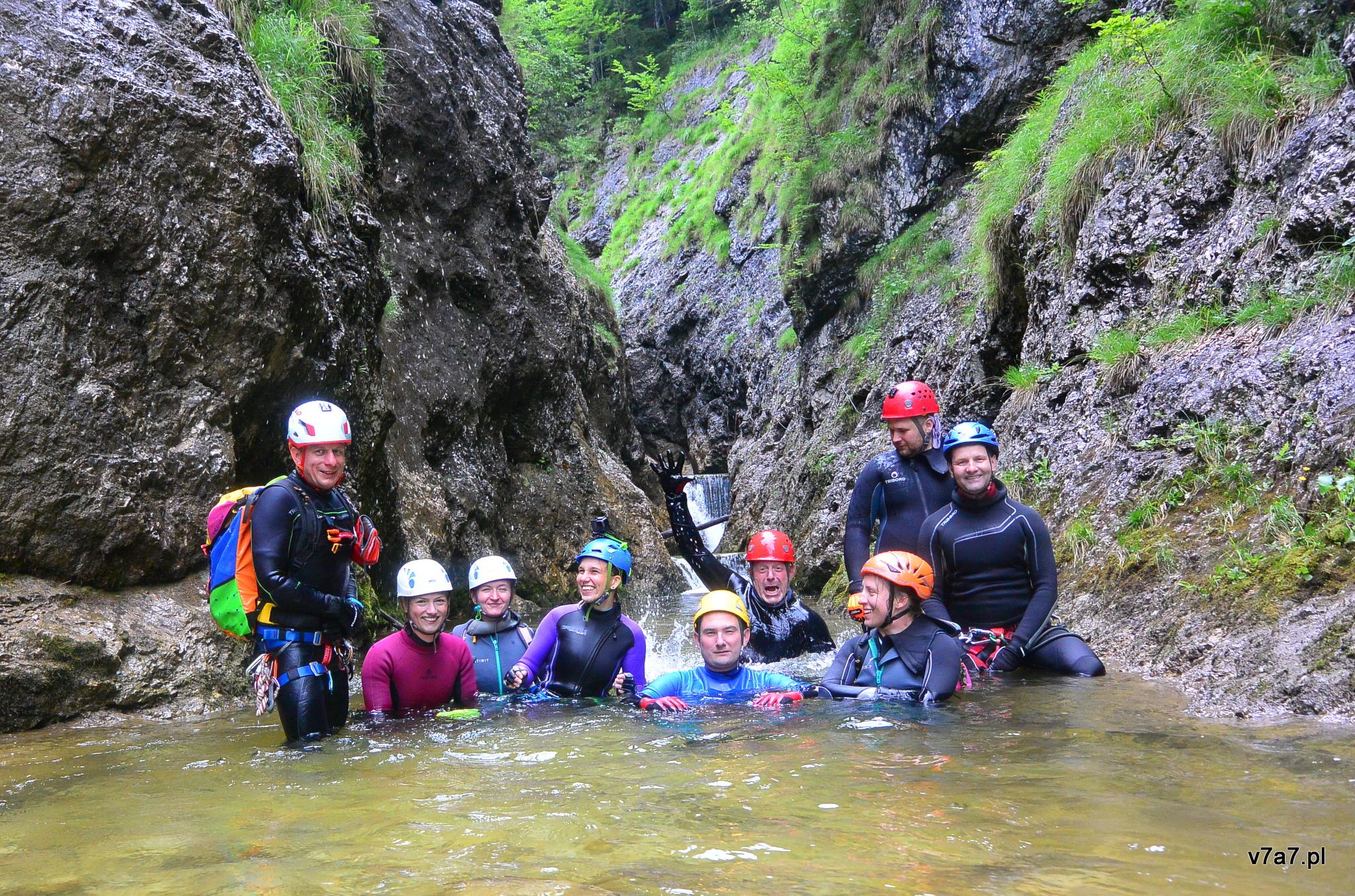 Intro kanioningowe – Palfau