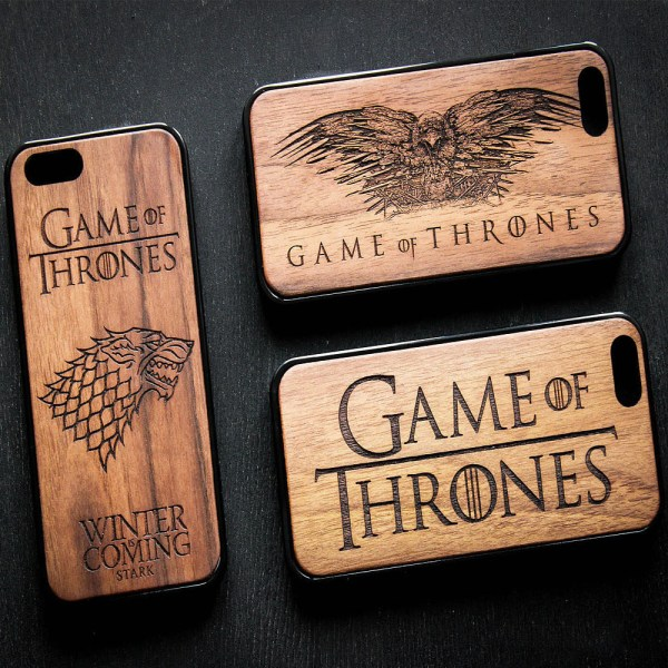 Game of Thrones iPhone Wooden Cases