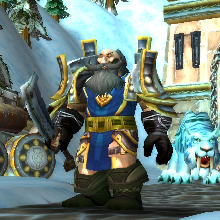 Dwarf Male Hunter Level 60 Kronos 3 Classic Wow