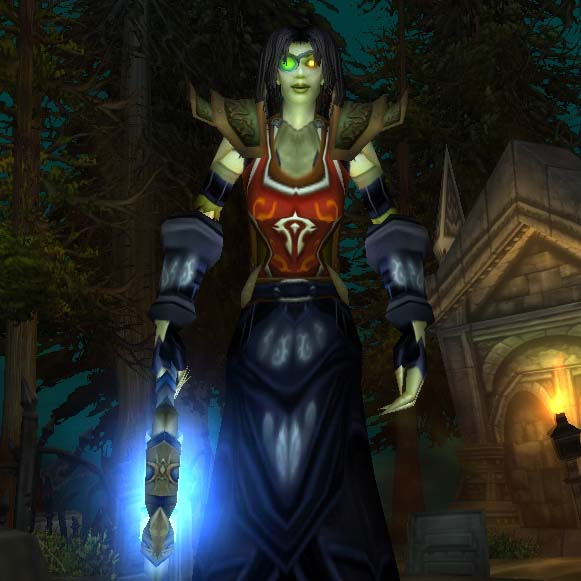 Wow Classic: Undead Female Priest Level 60