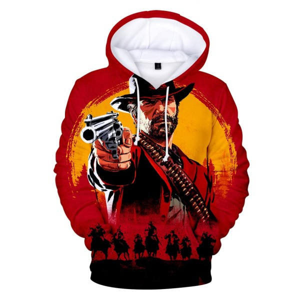 Red Dead Redemption 2 All Over Hoodies