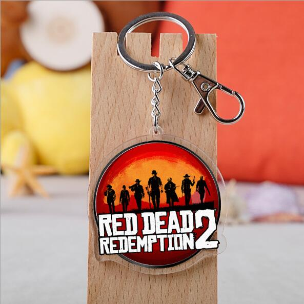 Red Dead Redemption 2 Acrylic Keychains