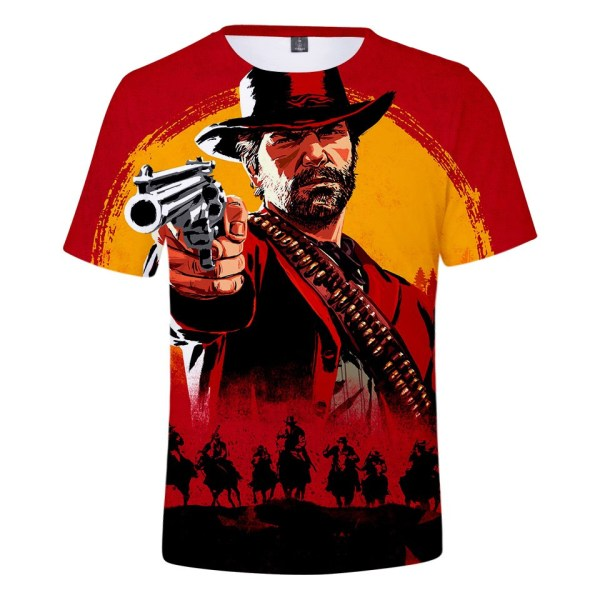 Red Dead Redemption All Over T-shirt