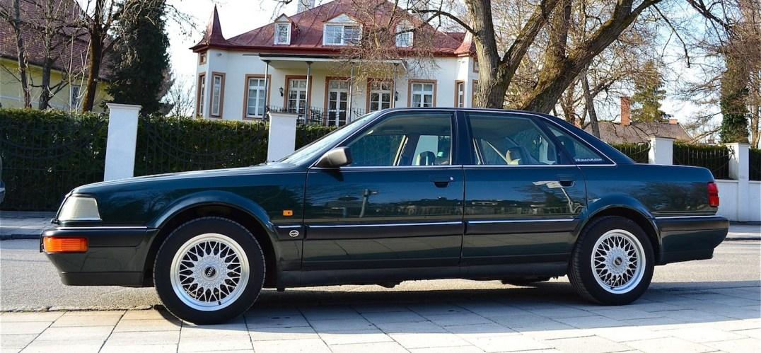 Audi V8 Seitenansicht