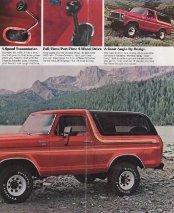 Seite 2 des original Prospekts von 1978. ©Ford Motor Company