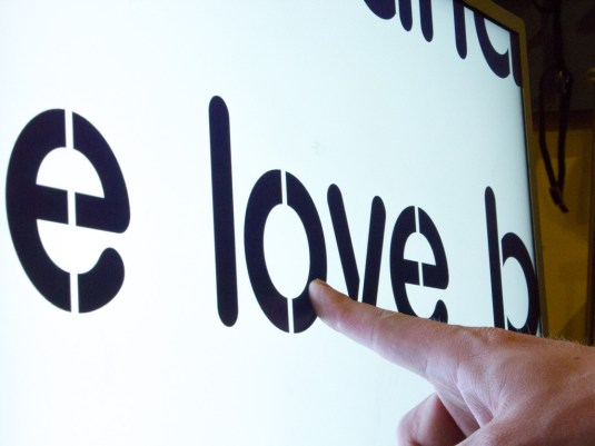 Testing word size - Pressing love
