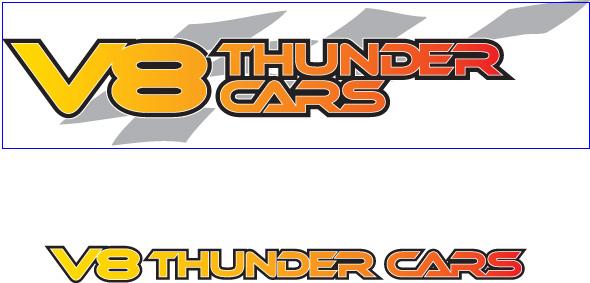 V8ThunderCars_logos
