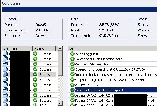 Veeam B&R v8: Watch out if you are using public IP addresses