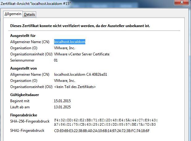 VMware vCenter Orchestrator (vCO) installation \'gotchas\'