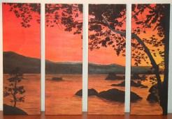 Calma al tramonto - 2008