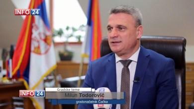 Photo of Milun Todorović: Naš Grad je značajno promenio svoje lice
