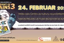 """Photo of U saradnji sa """"MALAGURSKI CINEMA"""" pozivamo Vas premijerno na film """"Težina lanaca 3"""" u Valjevu u Centru za kulturu 24. februara u 20 časova"""