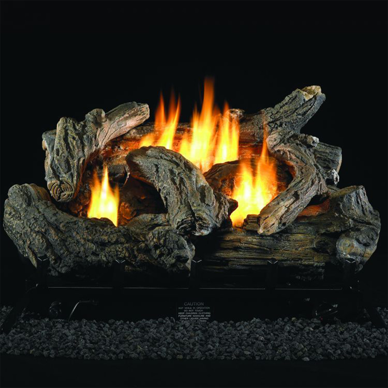 Gas Log Set 24 Dual Fuel Technology