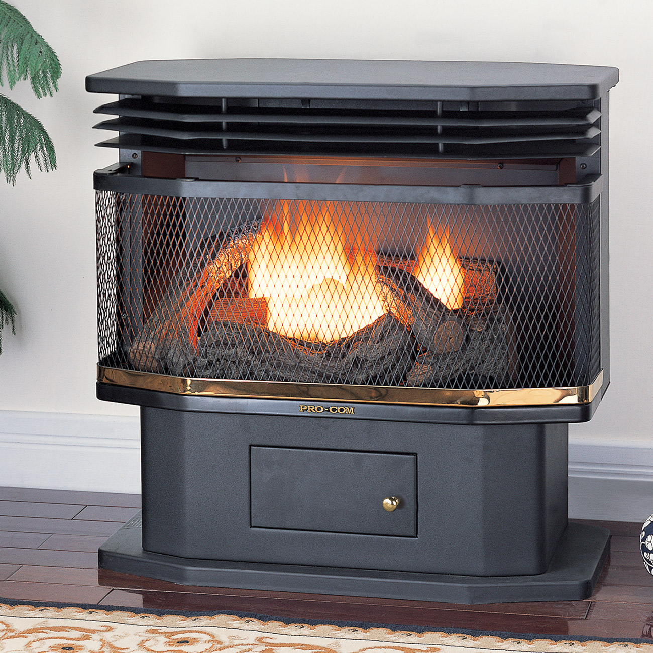 Procom Ventless Fireplace