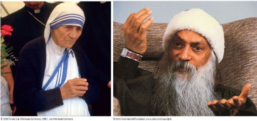 osho comments on mother teresa