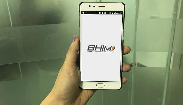 bhim upi logo