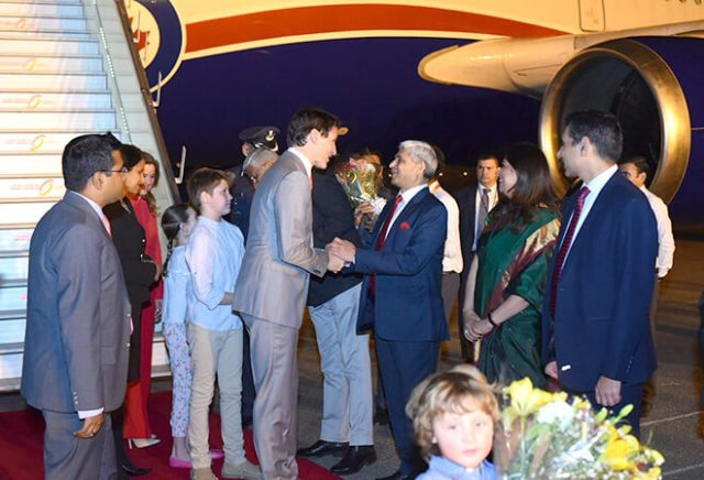 trudeau welcome
