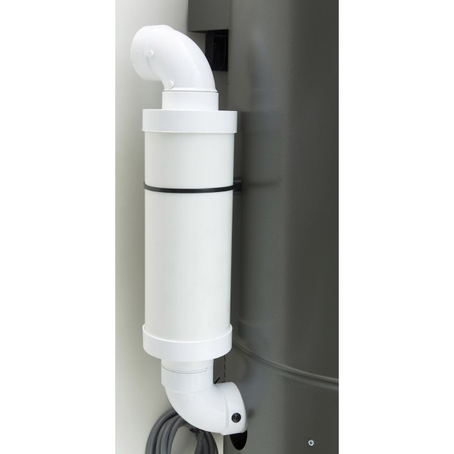 ducted vacuum cleaner silencer exhaust