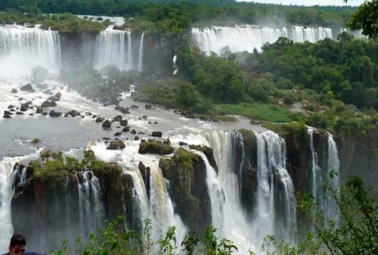 Cataratas en Iguazú, Argentina