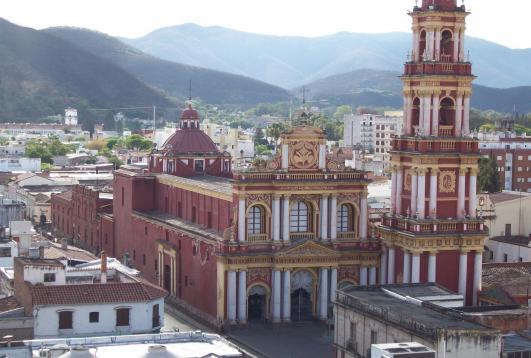 Iglesia en Salta, Argentina