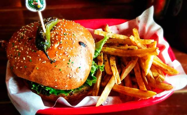hamburguesa de pollo jumbo